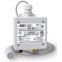 DS-8 Контроллер температуры и осадков для кабельных систем снеготаяния