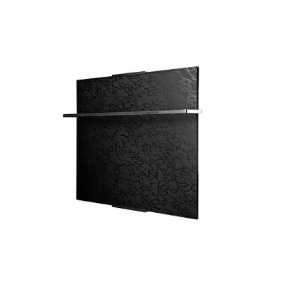 Полотенцесушитель Теплолюкс Laguna 60х50 чёрный узор